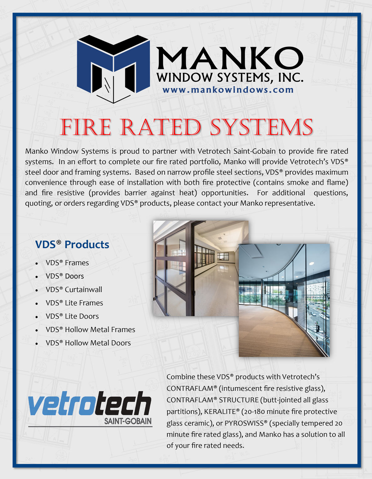 fire rated systems